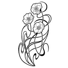 236x236 art deco line drawings lovely art therapy art deco
