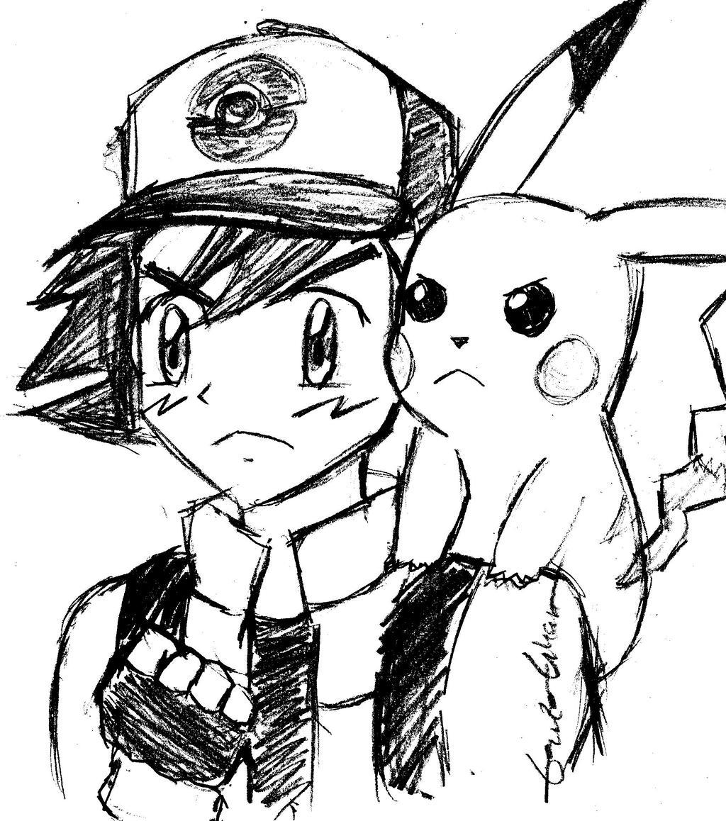 1024x1158 Ash And Pikachu