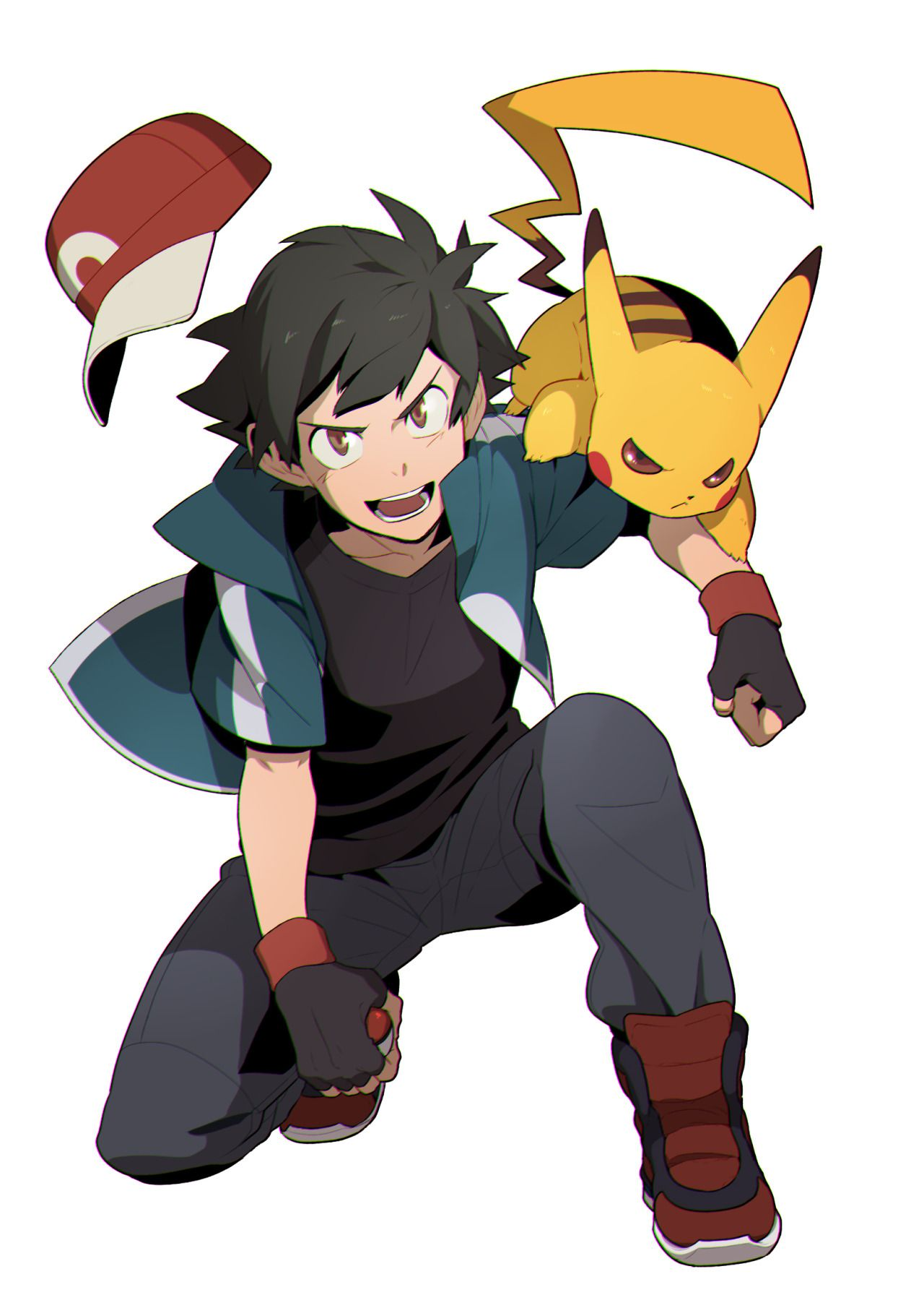 1280x1810 ash and pikachu pokemon satoshi pokemon, ash de pokemon