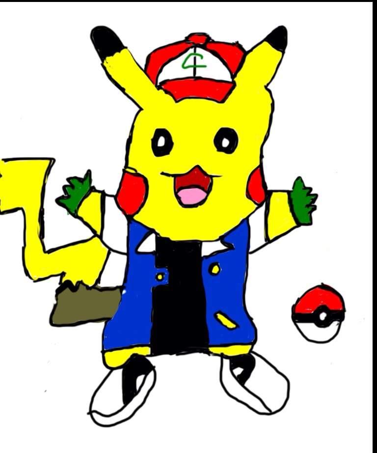 768x922 Ash Pikachu Drawing Amino