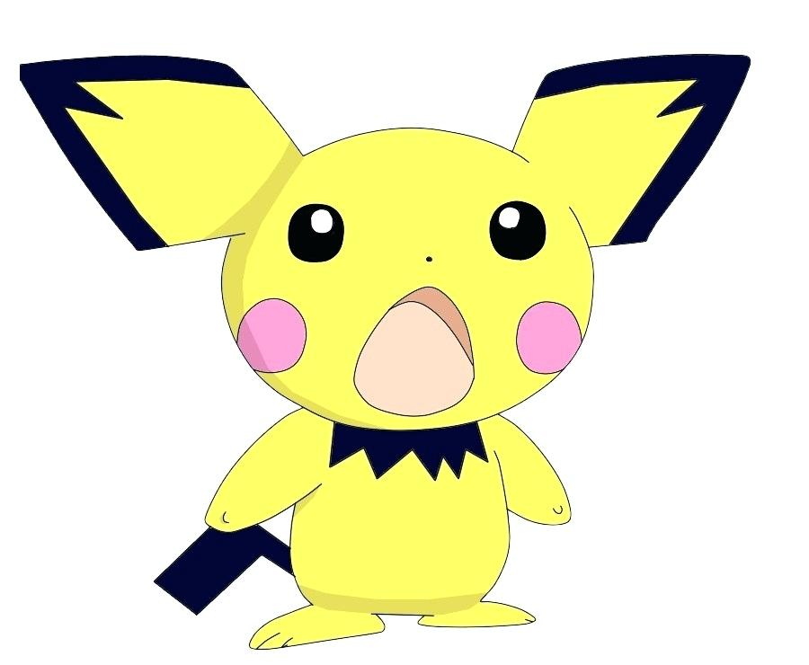 900x740 How To Draw Pichu Ash Coloring Book Drawing Download Free