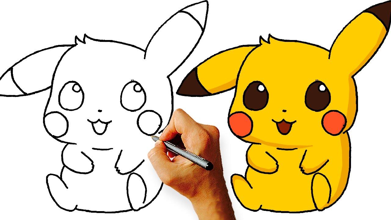 1280x720 How To Draw Chibi Pikachu