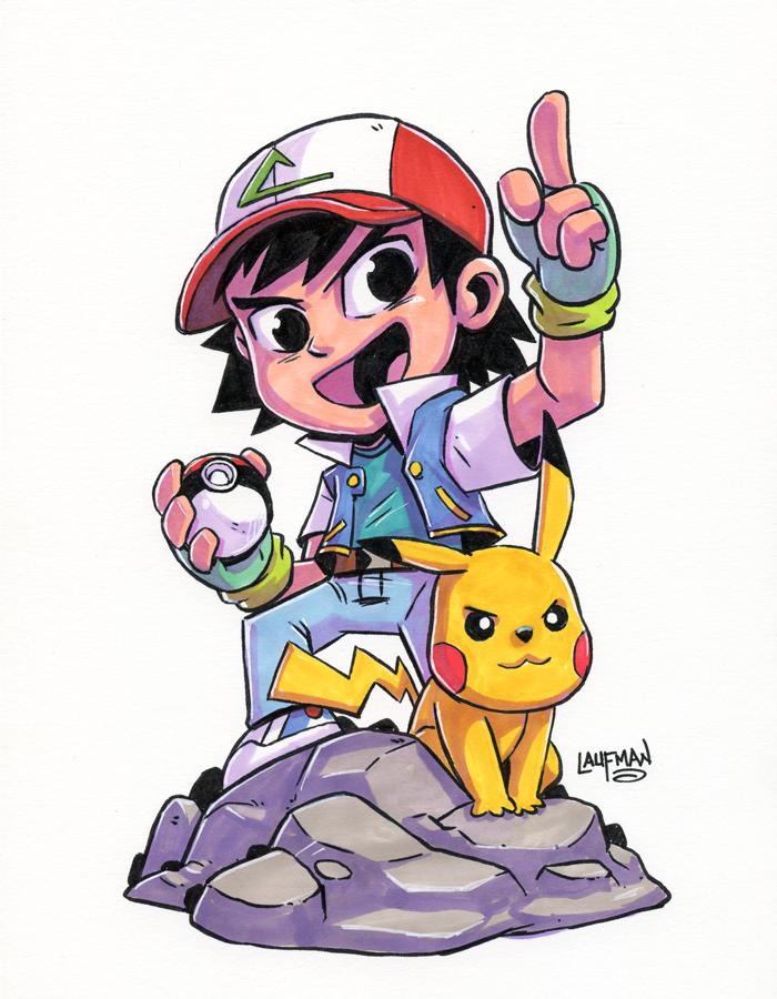 700x900 Ash And Pikachu