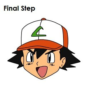 300x388 ash ketchum pokemon draw in ash ketchum, drawings, ash