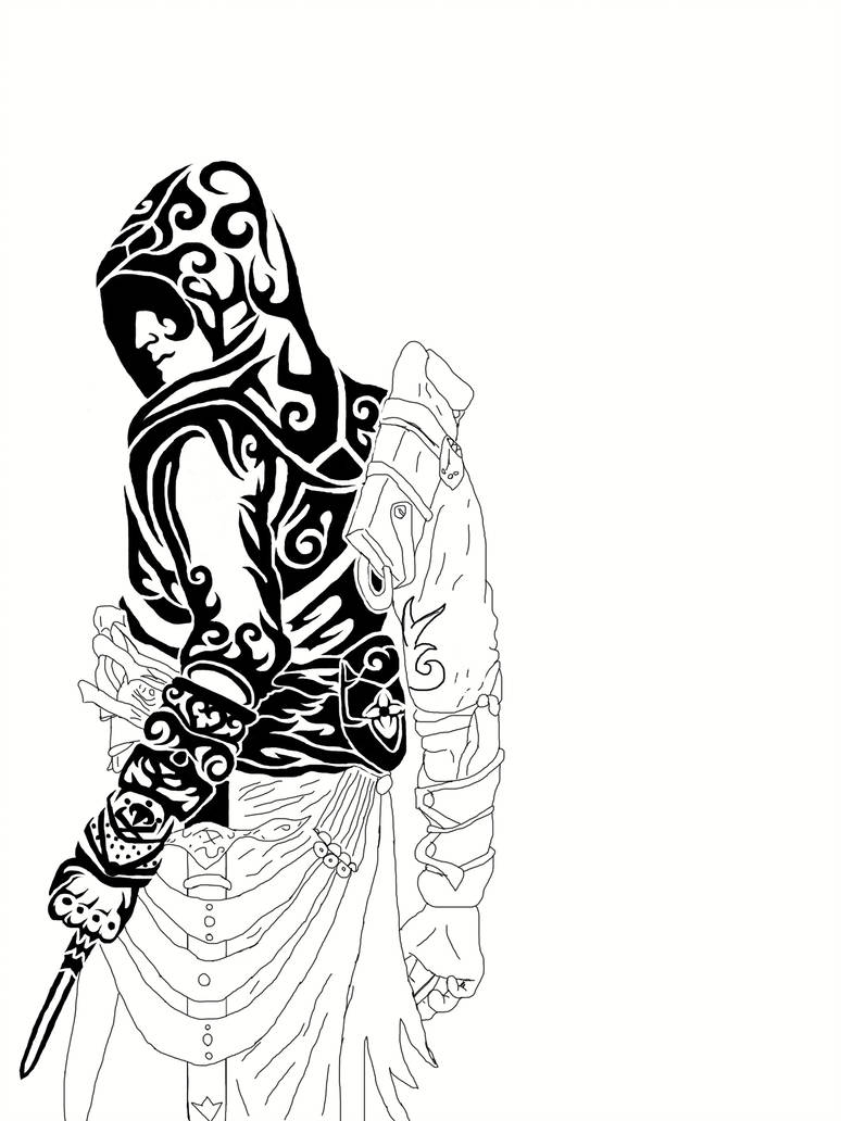 Assassins Creed Drawing Free Download On Clipartmag