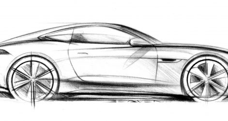 471x250 Cool Car Drawings Side View Supercar Old And Easy Cartoon Best