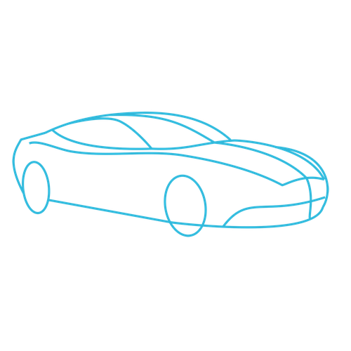500x500 How To Draw Cars Aston Martin Vanquish Lesson
