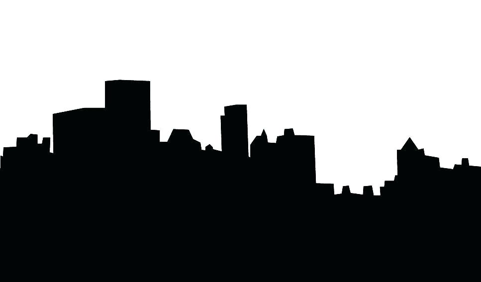 967x567 Atlanta Skyline Silhouette Skyline Detailed Vector