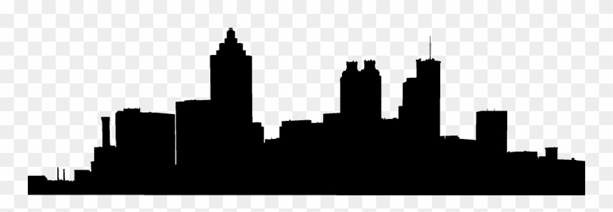 880x305 Atlanta Skyline Vector