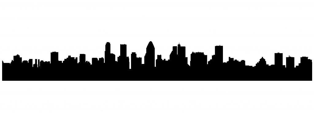 1024x389 Atlanta Skyline Vector