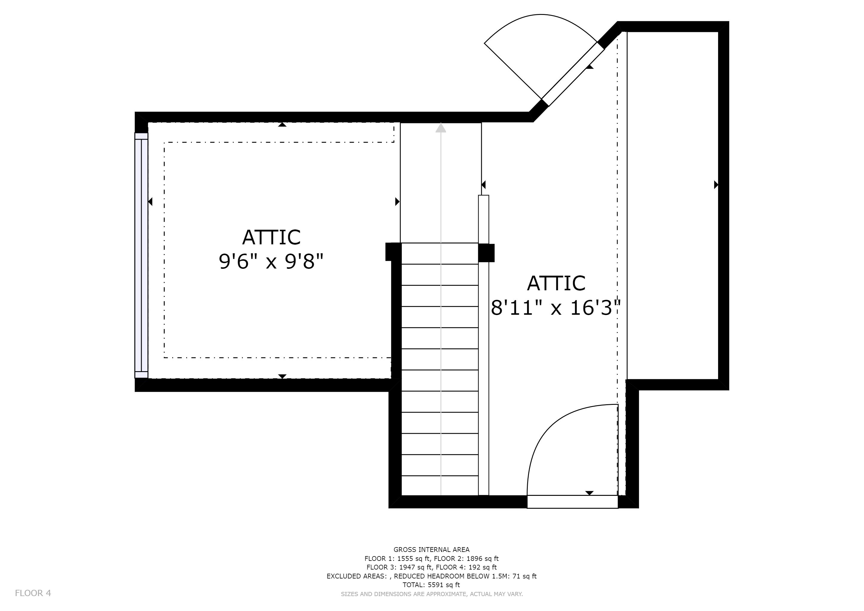 2896x2048 Attic Deleon Realty