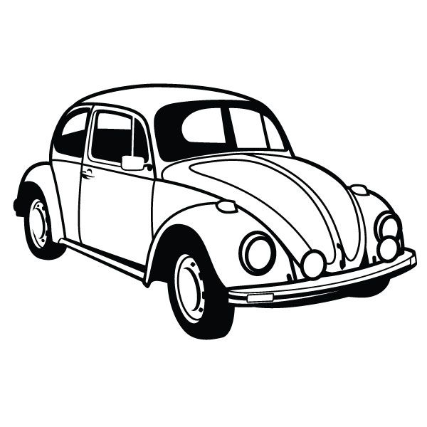 600x600 Car Vector Clipart