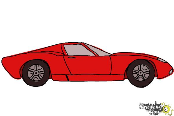 600x400 How To Draw A Sports Car