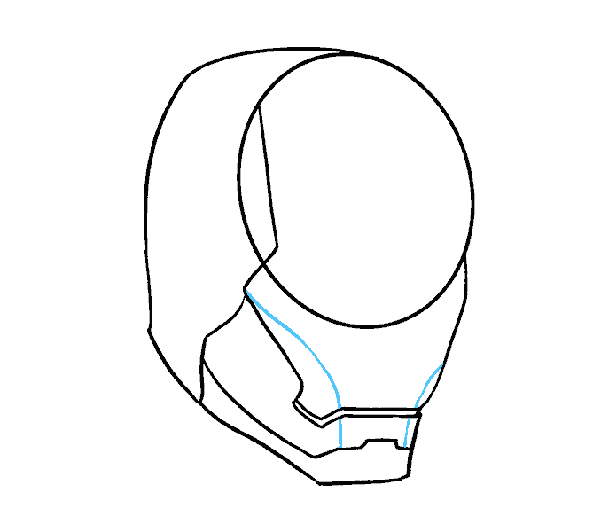 678x600 Collection Of Free Avengers Drawing Mask Download On Ui Ex