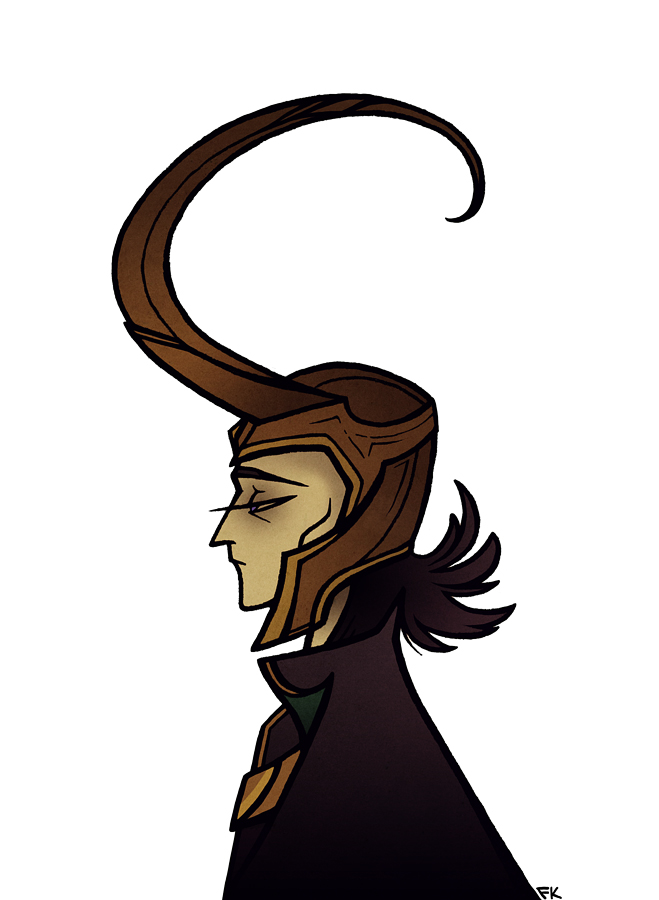 659x900 Couldn't Resist Drawing Loki After Seeing The Avengers Yesterday