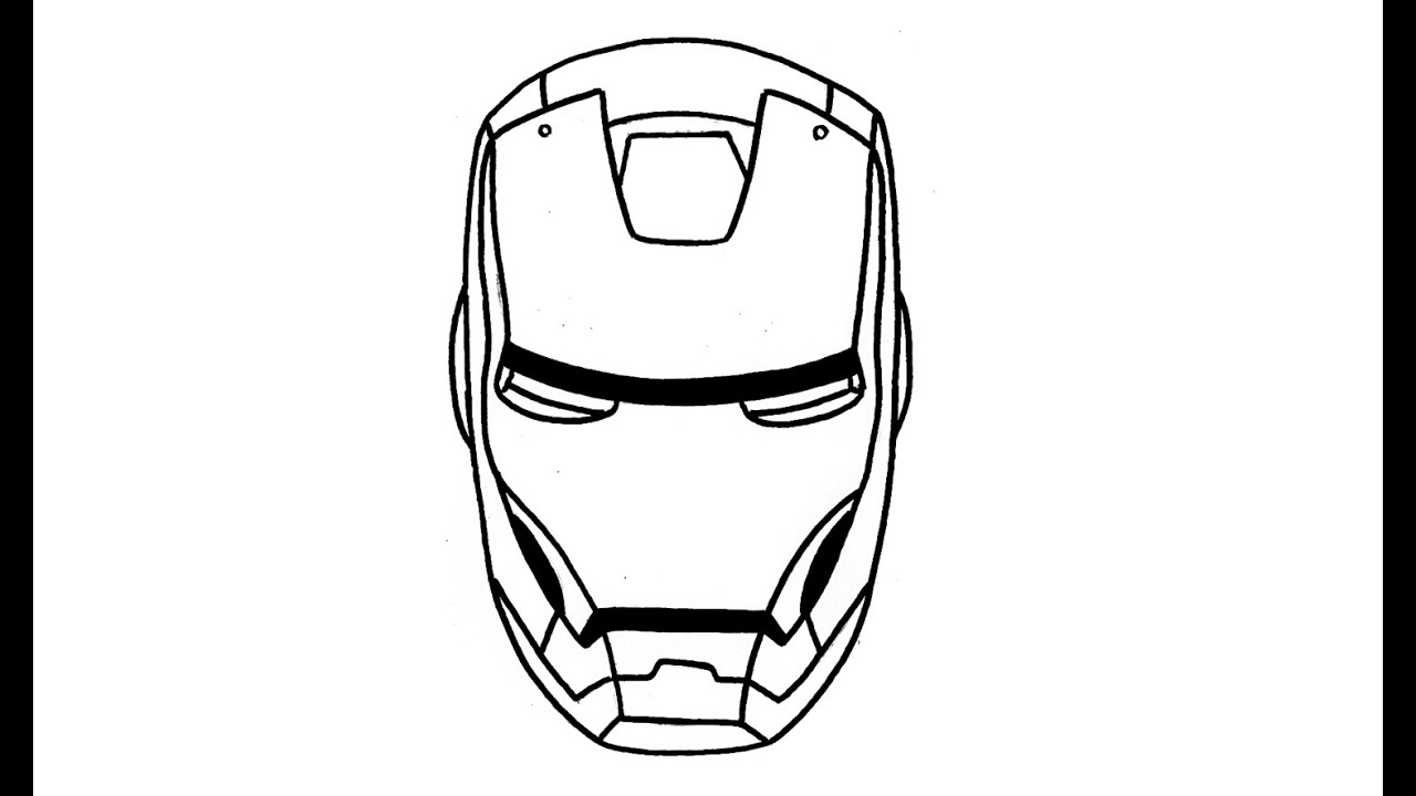 1280x720 How To Draw Iron Man