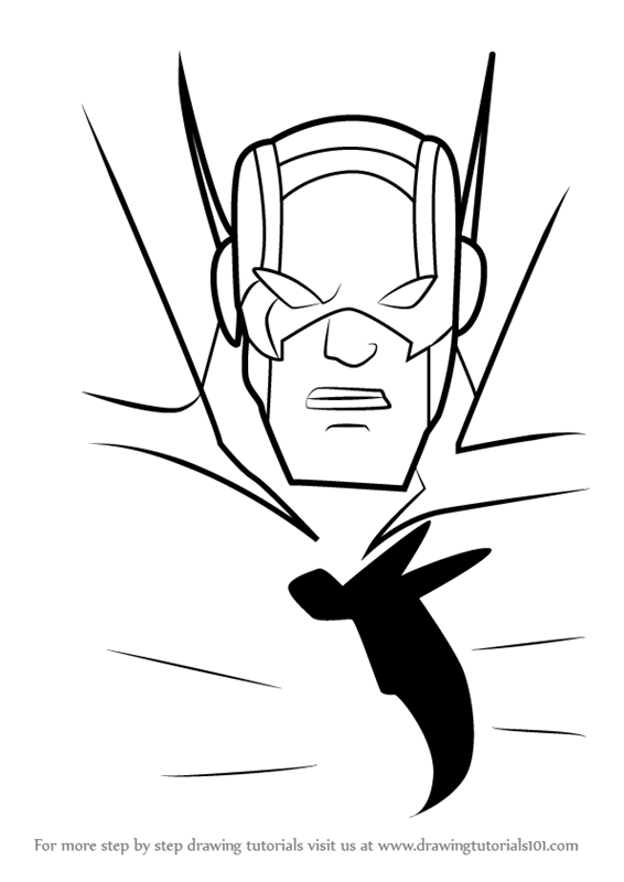 566x800 Learn How To Draw Henry Pym From The Avengers