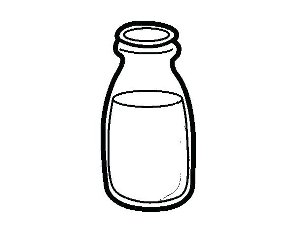 600x470 Baby Bottle Coloring