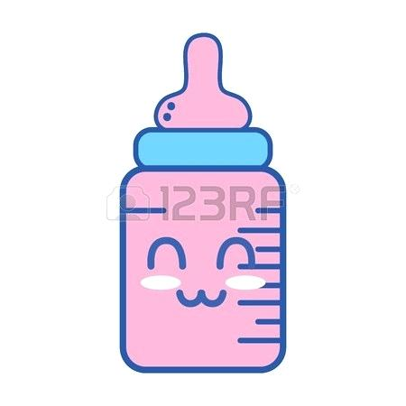 450x450 Baby Bottle Drawing How To Draw A Step