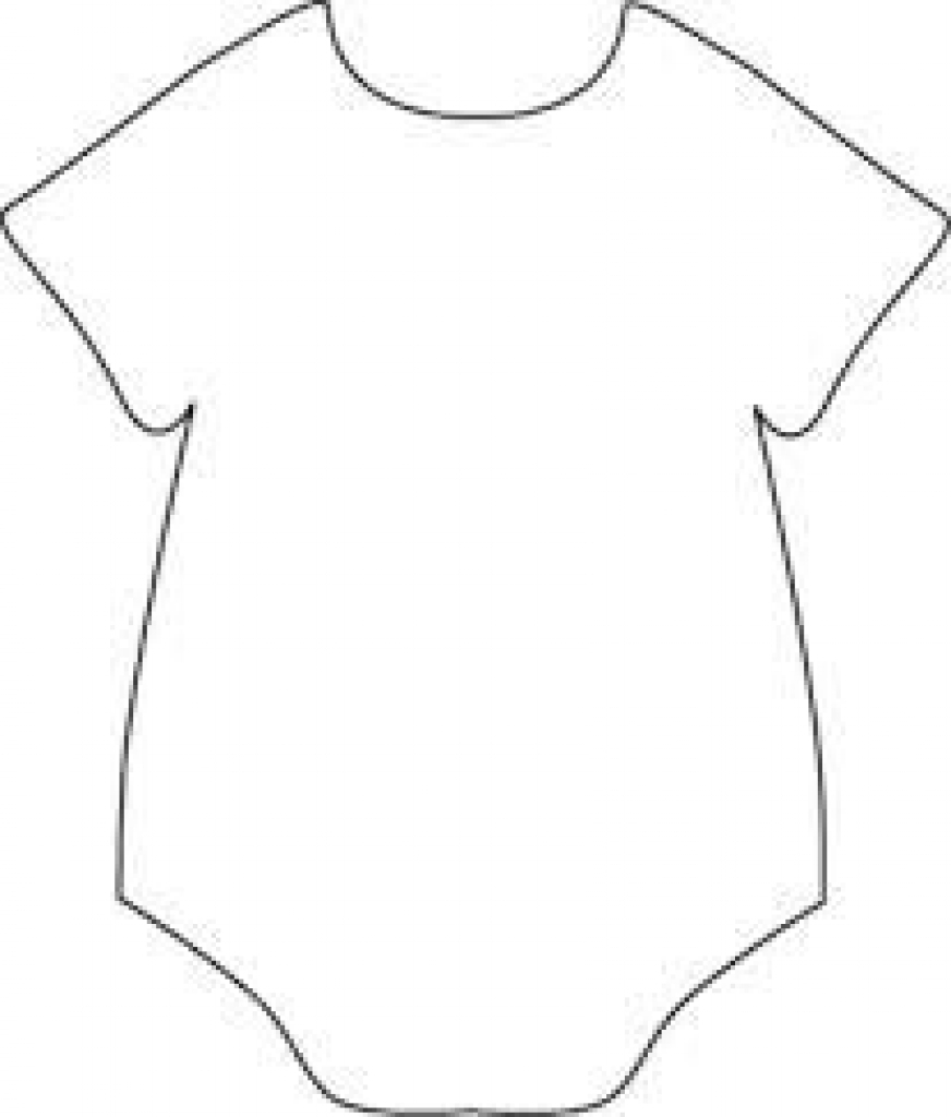 872x1024 Onesie Drawing Baby Boy For Free Download