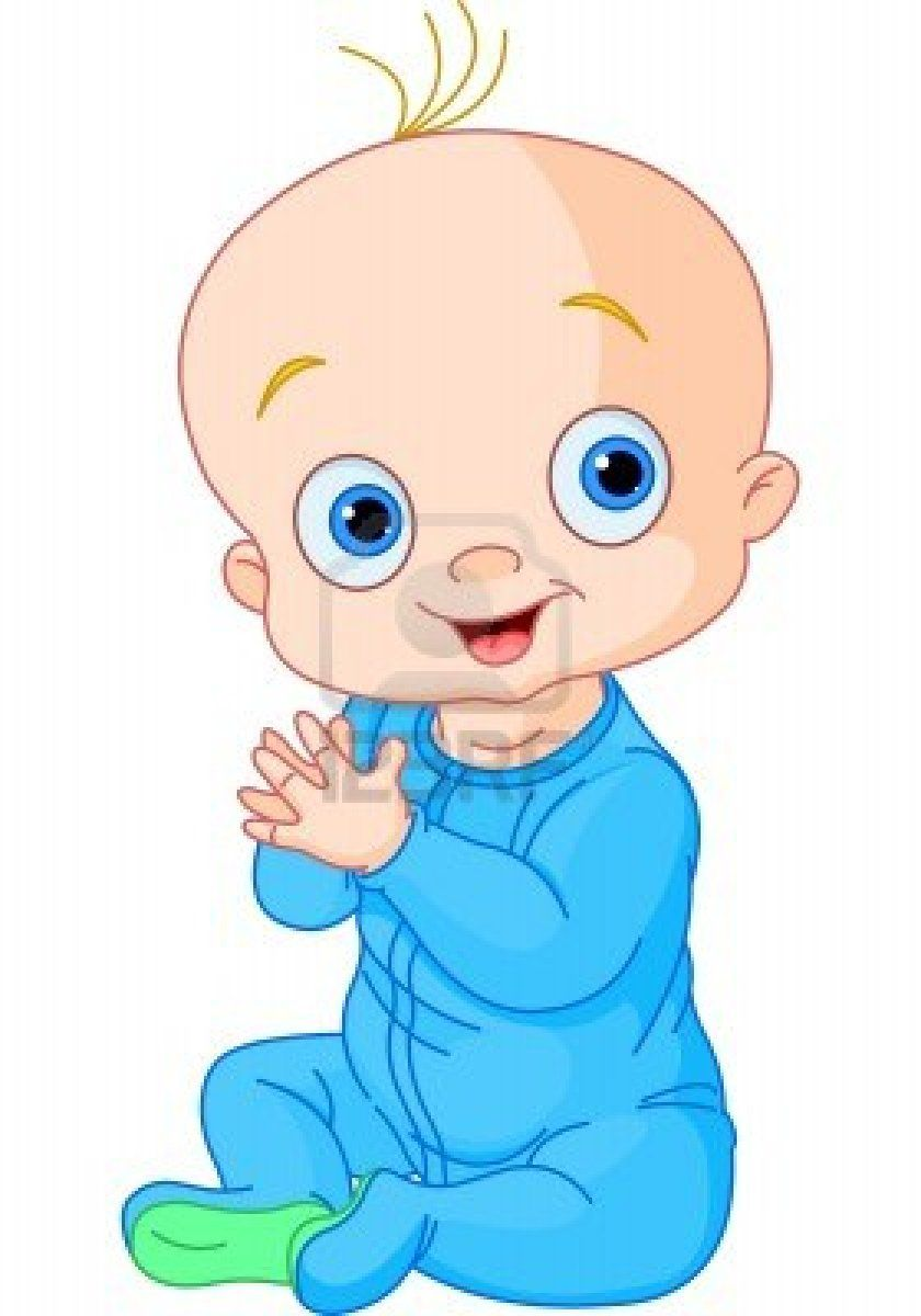 840x1200 Stock Vector Baby Clip Art, Baby Cartoon, Cute Baby Boy