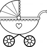 150x150 baby crib coloring pages ba crib coloring pages rib coloring pages