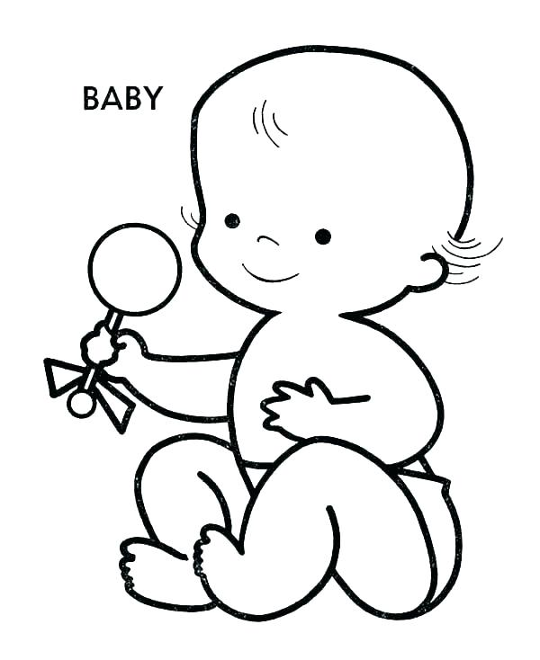 600x734 baby alive coloring pages printable baby doll coloring pages doll
