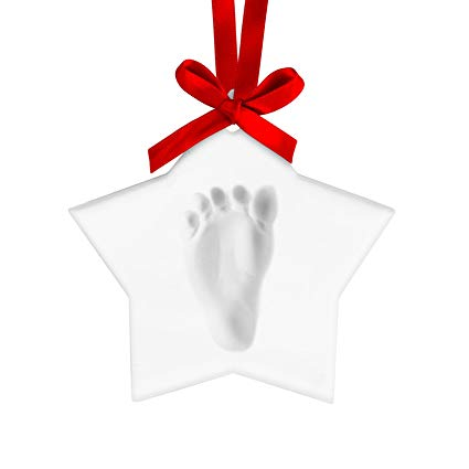 425x425 Pearhead Babyprints Baby Handprint Or Footprint Keepsake Ornament