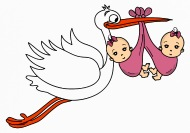 190x133 Stork Baby Twins Babies Girl Iphone Case Spreadshirt