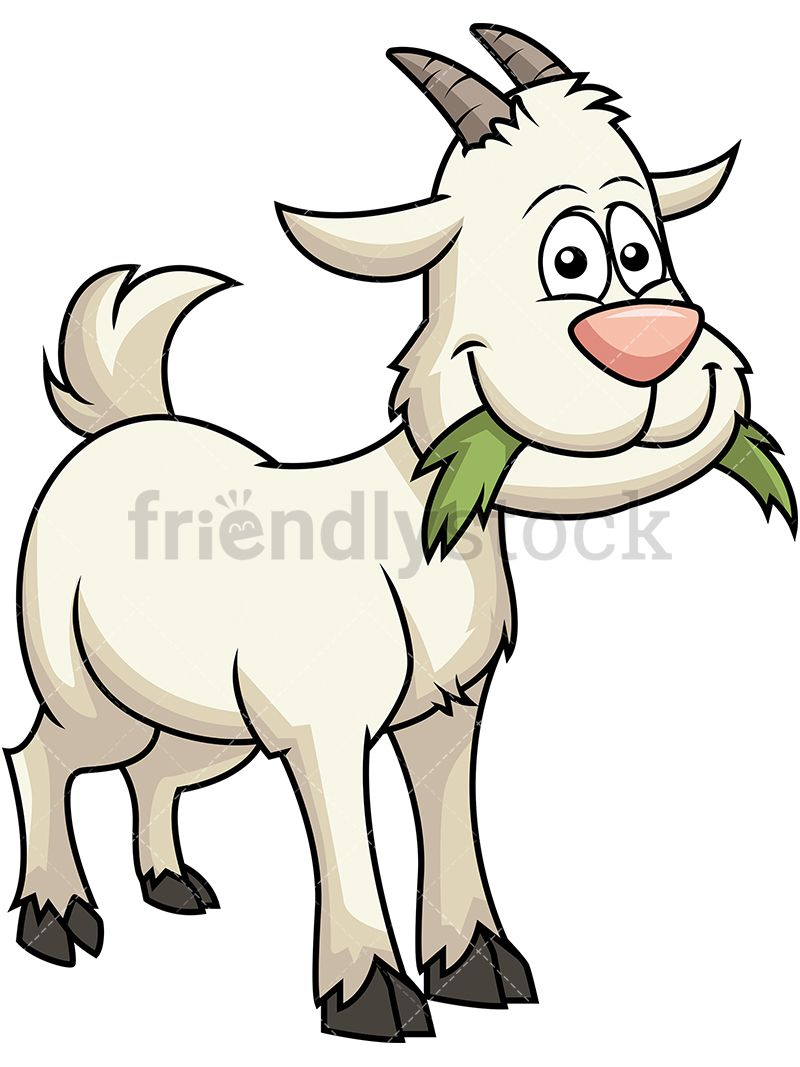 800x1067 Happy Goat Eating Grass Garden Swing Goats, Goat Paintings