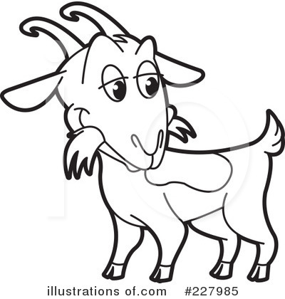 400x420 Baby Goat Clipart Black And White