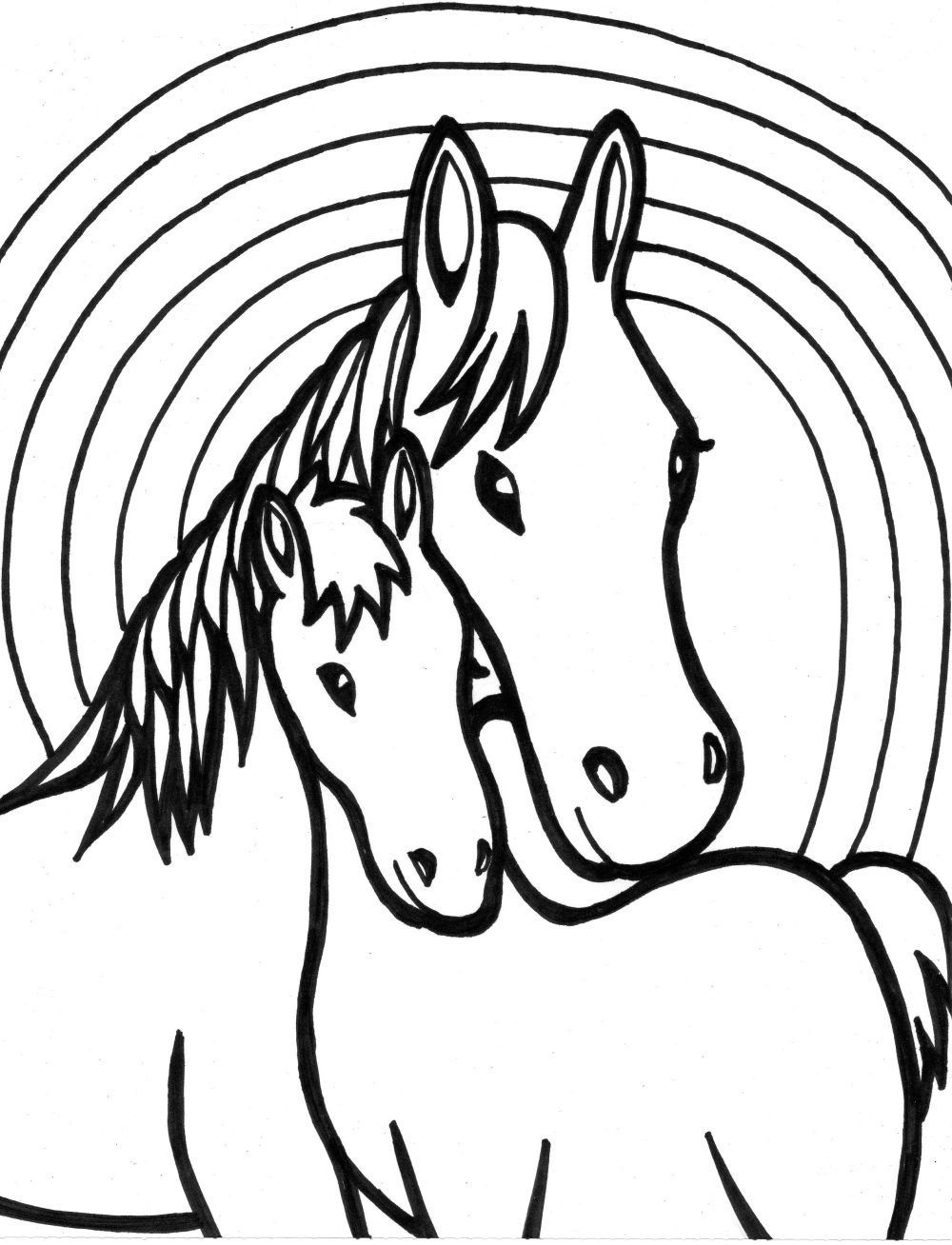 Baby Horse Drawing   Free download best Baby Horse Drawing ...