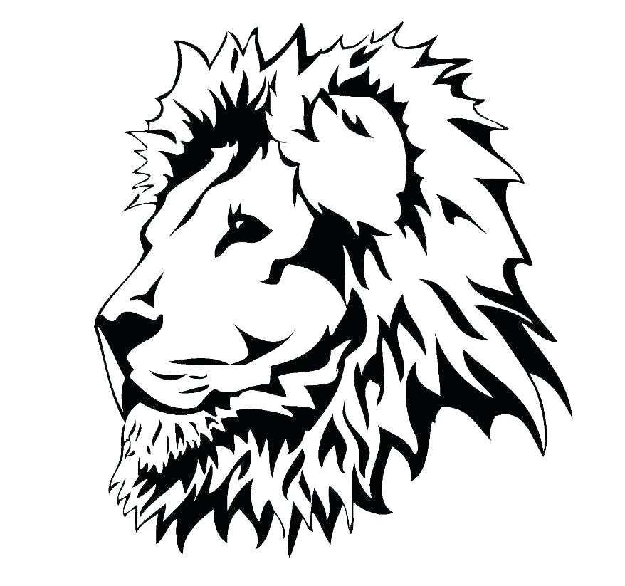 878x823 lion drawing for coloring lion guard printable coloring pages baby