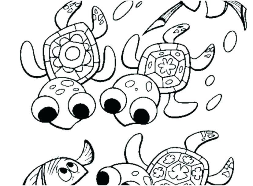 827x609 Sea Turtle Coloring Pages Sea Turtles Coloring Pages Sea Turtles