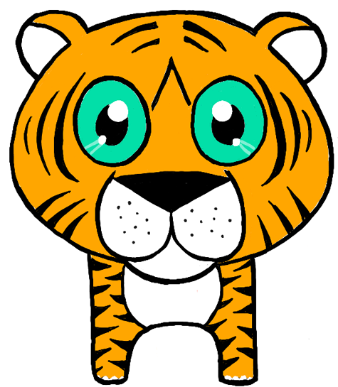475x545 how to draw chibi tigers or baby tigers drawing lesson for kids