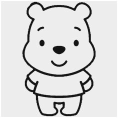 236x236 Baby Winnie The Pooh Characters Coloring Pages Amazing How To Draw