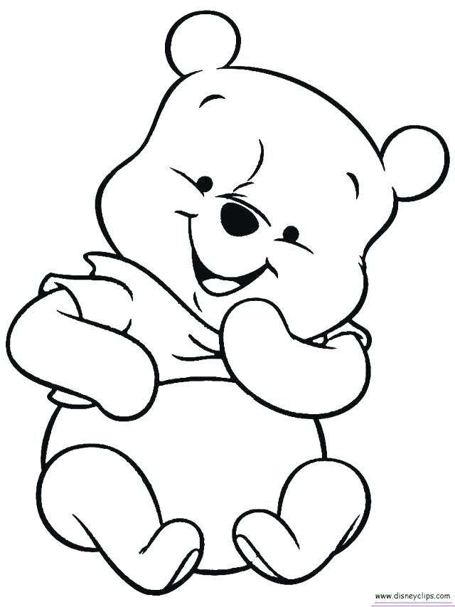 640x853 winnie the pooh color baby winnie the pooh coloring pages