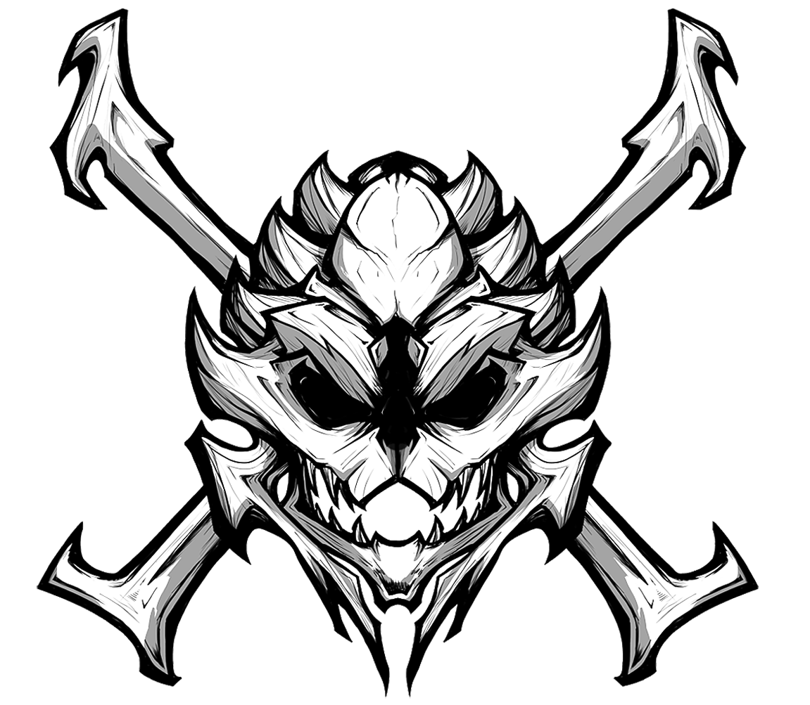 1151x1003 Gta Drawing Skull For Free Download