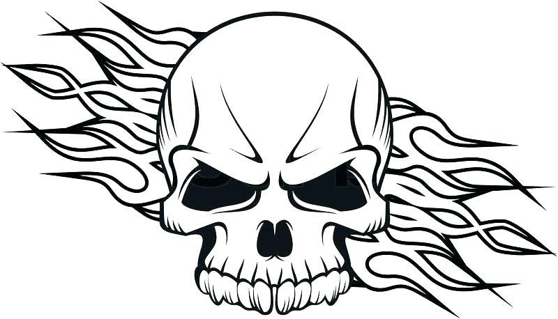 800x458 Grim Reaper Flaming Skull