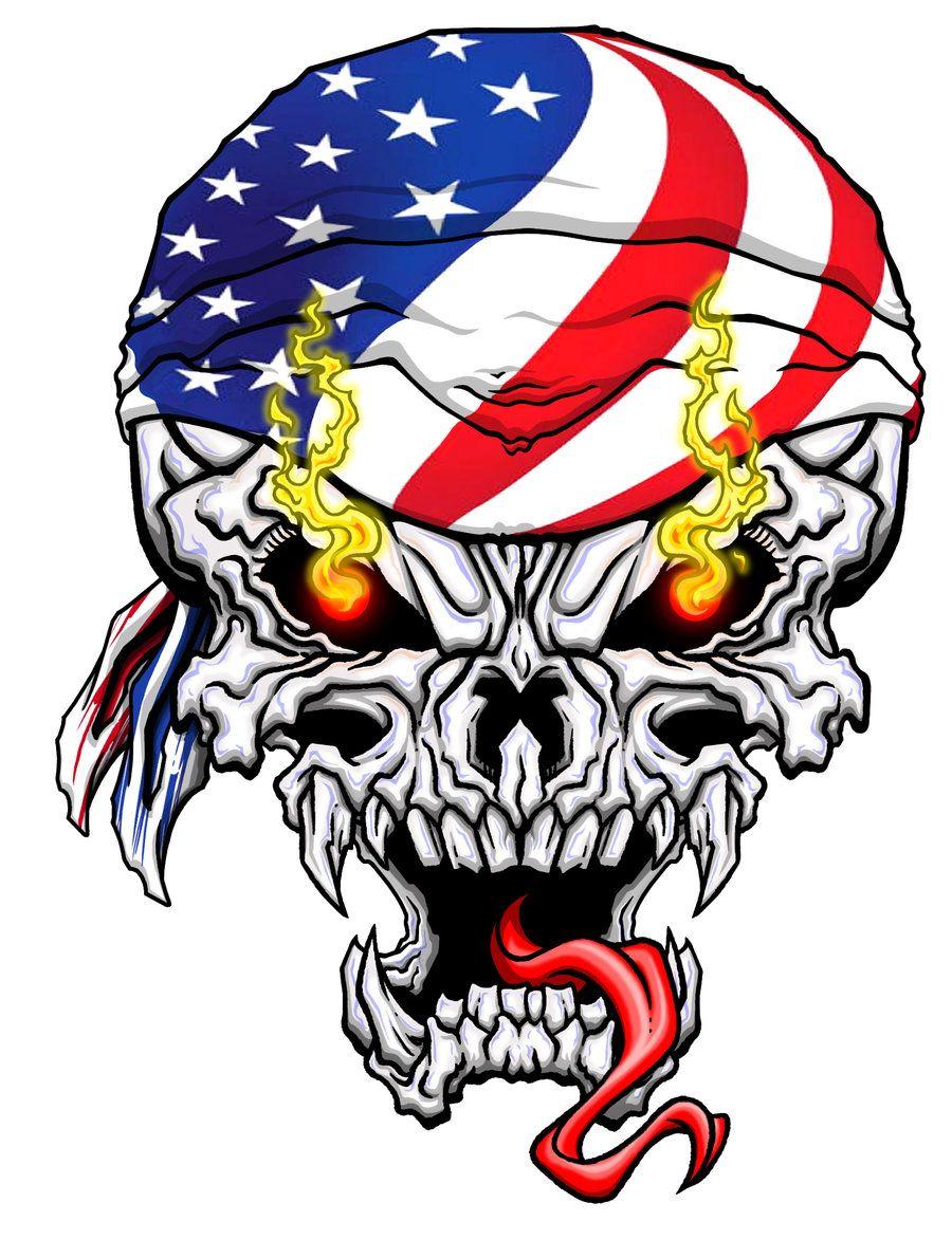 900x1173 Badass Skulls Gen Metal Skull Logo