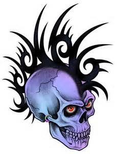 229x300 Best Badass Skulls Images Badass Skulls, Crazy Colour, Death