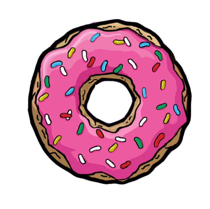 728x724 homer simpson donuts drawing bakery sprinkles png, clipart, bakery