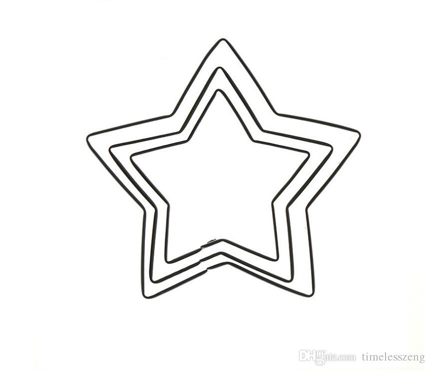 861x742 Durable In Use Five Pointed Star Shape Cookie Mould Diy