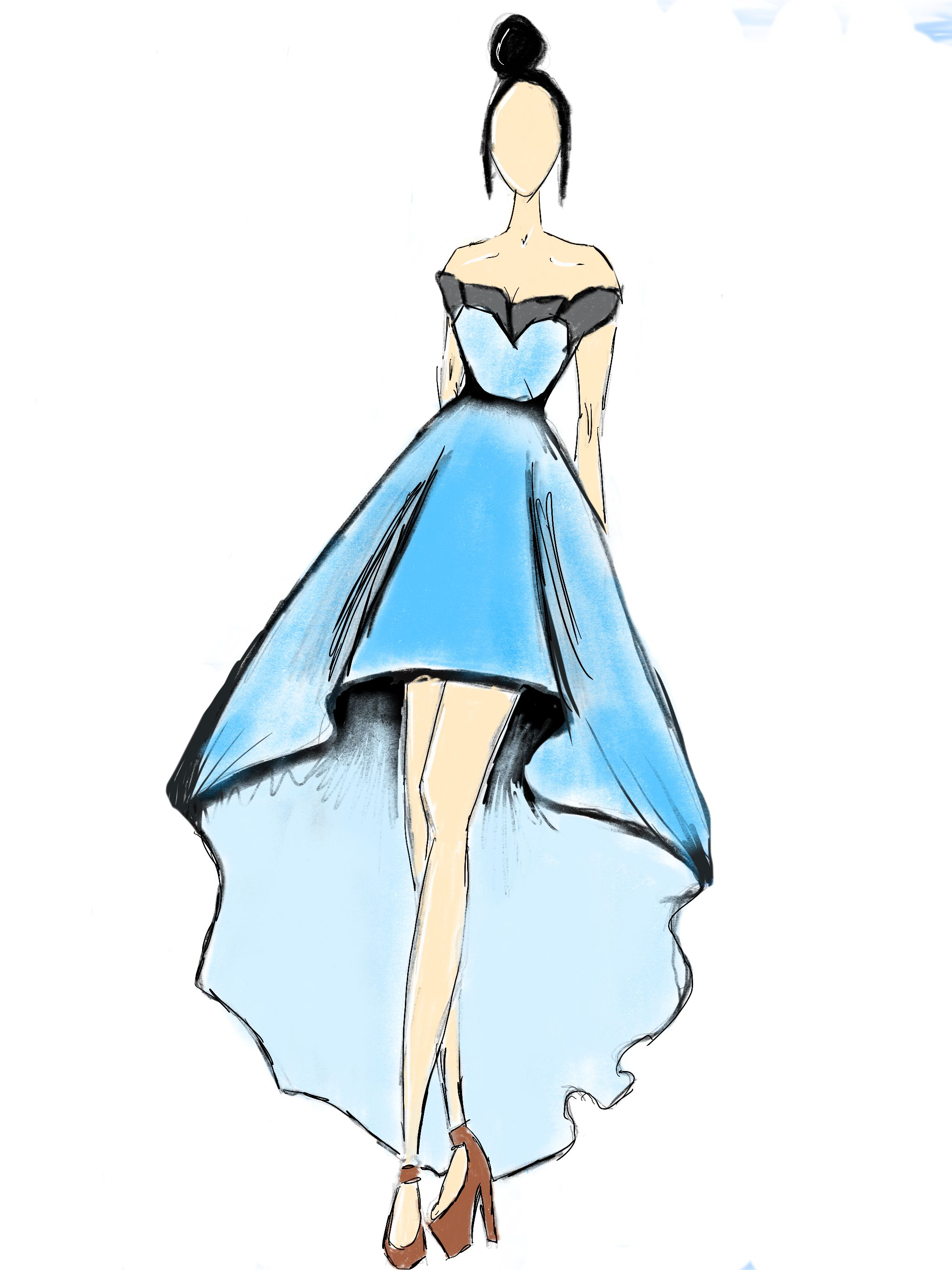 Ball Gown Drawing