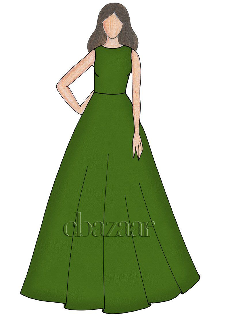 800x1100 buy peridot taffeta ball gown, party, dresses and gown online