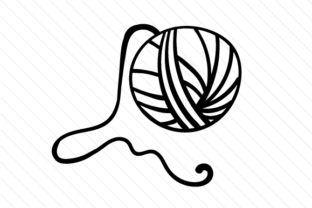 312x208 ball of yarn cut it, fold it yarn ball, knitting help, cricut