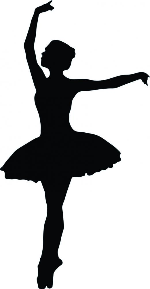 521x1000 Shadow Drawing Ballerina For Free Download