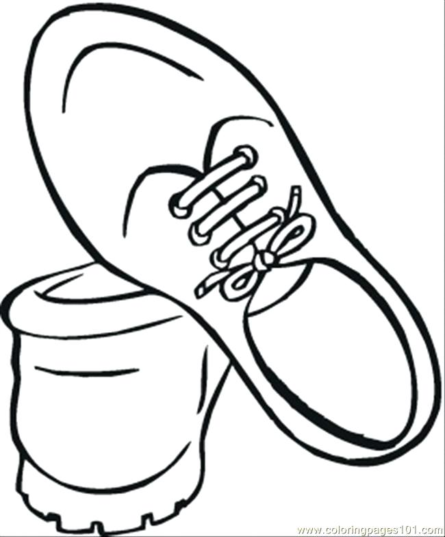 650x784 shoes coloring pages ballet shoe coloring pages of shoes
