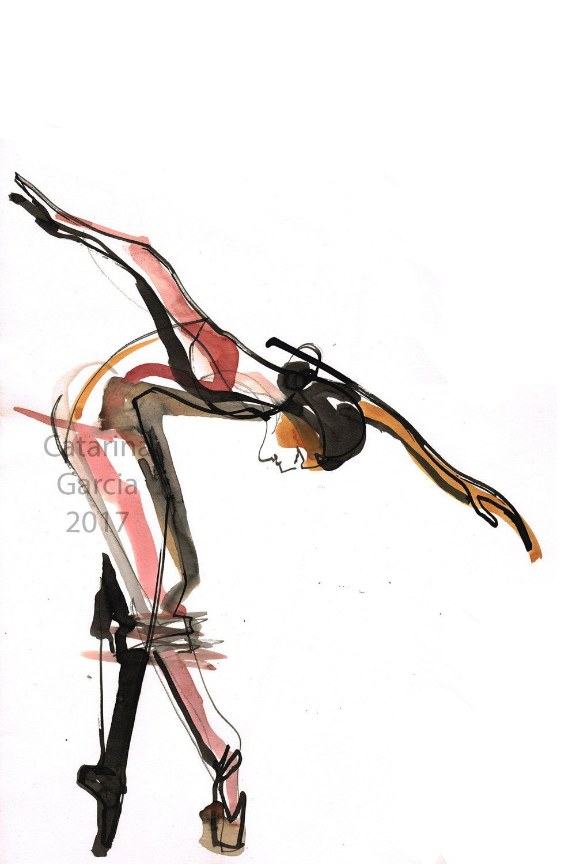 993x1500 ballet dancer drawing lovely original ballet dance drawing