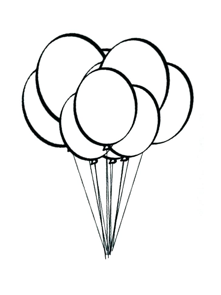 728x971 Balloon Drawing Pdf For Free Download